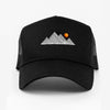 Mountain Trucker Cap - Black/Black