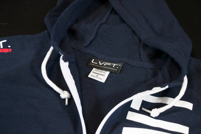 Live Fit Apparel Live Fit Zip Up - Navy - LVFT