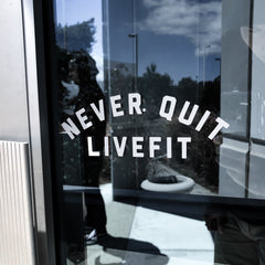 Never Quit Decal