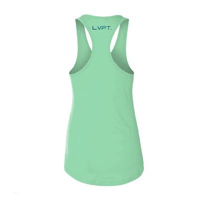 Live Fit Apparel Nation Women's Racerback - Mint - LVFT