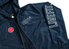 Covert Full Zip Windbreaker- Navy