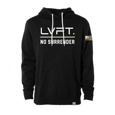 No Surrender Hoodie - Black