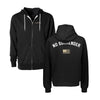 No Surrender Zip Up - Black