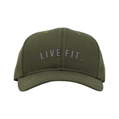 Premium Structured Live Fit. Cap- Olive
