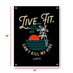 Live Fit Apparel Paradise Banner - Banner - LVFT