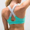 Live Fit Apparel LVFT Performance Bra- Mint - LVFT