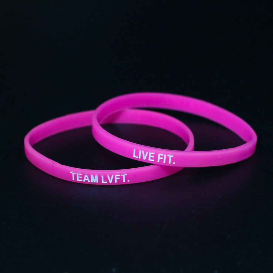 TEAM LVFT Slim Band- Pink