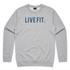 Premium Live Fit Crewneck - Athletic Heather