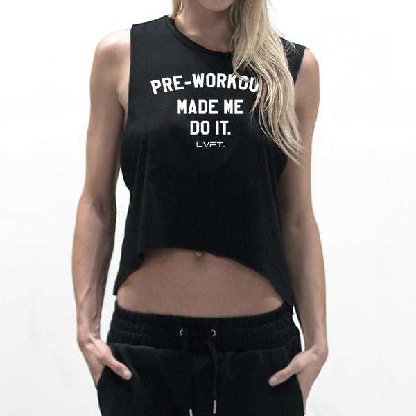 Pre-Workout Muscle Cutoff- Black
