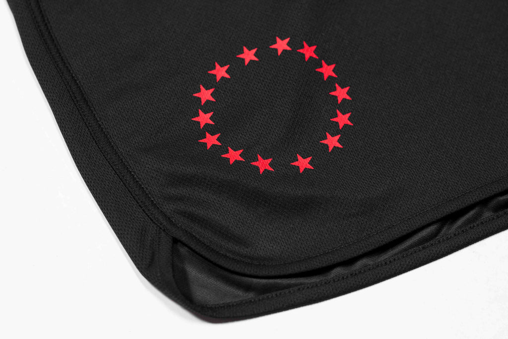 All Star Active Shorts - Black/Red Reverse
