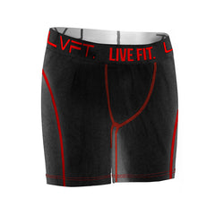 Tech-Briefs- Black/Red
