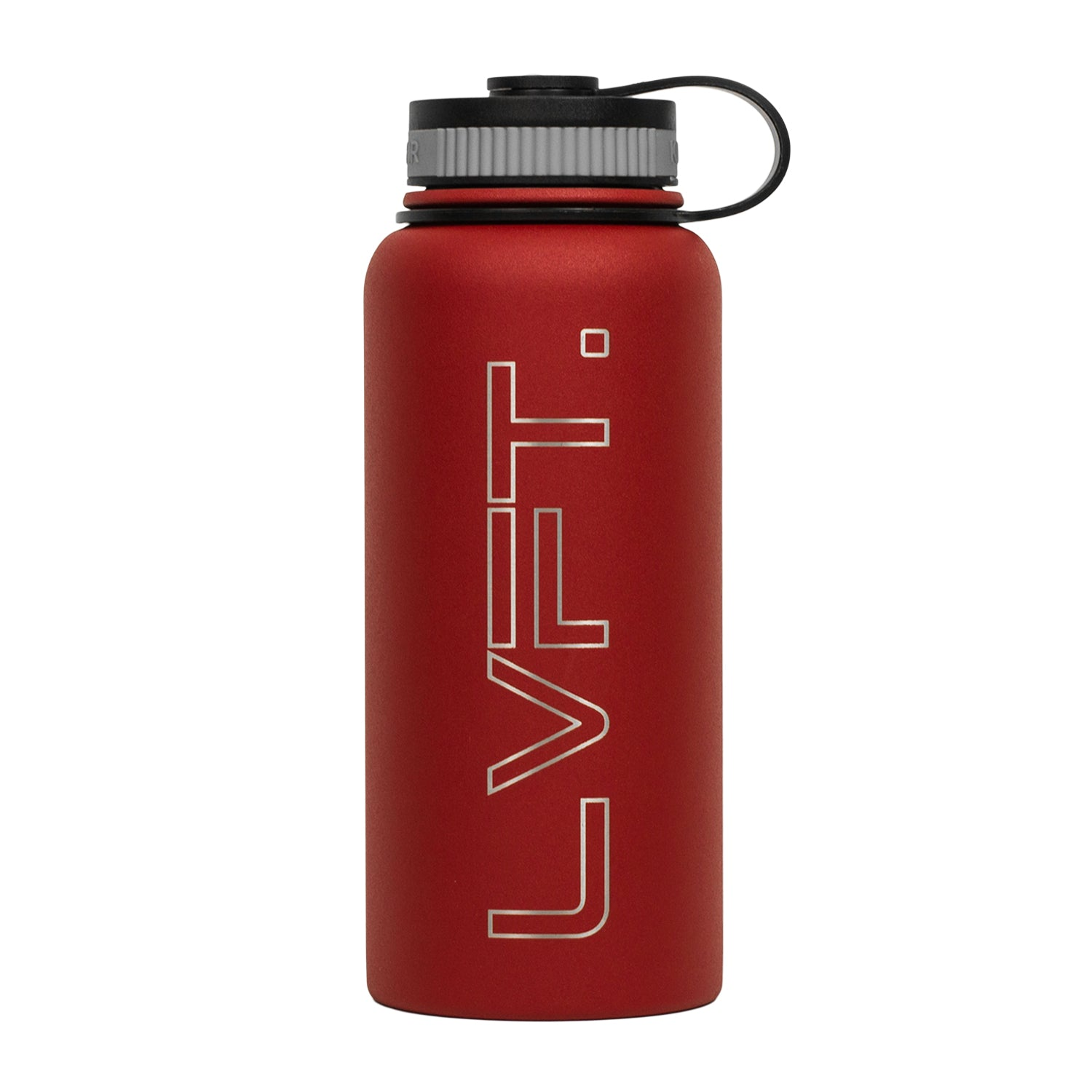 LVFT Stainless Steel Bottle - Red