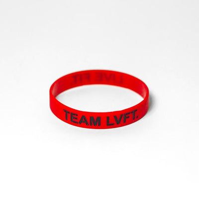 Live Fit Apparel Live Fit Band- Red/Black - LVFT