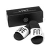 Live Fit Apparel Live Fit. Slides- White - LVFT