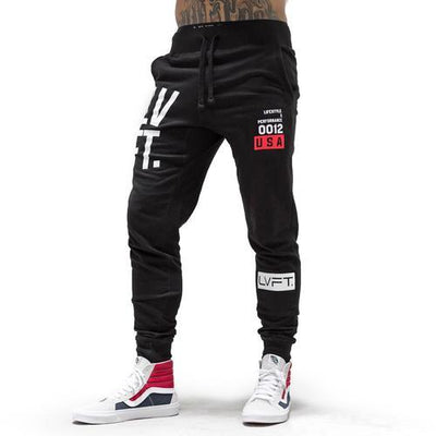 Stacked Joggers - Black