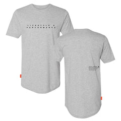 Stealth Long Body Tee - Grey