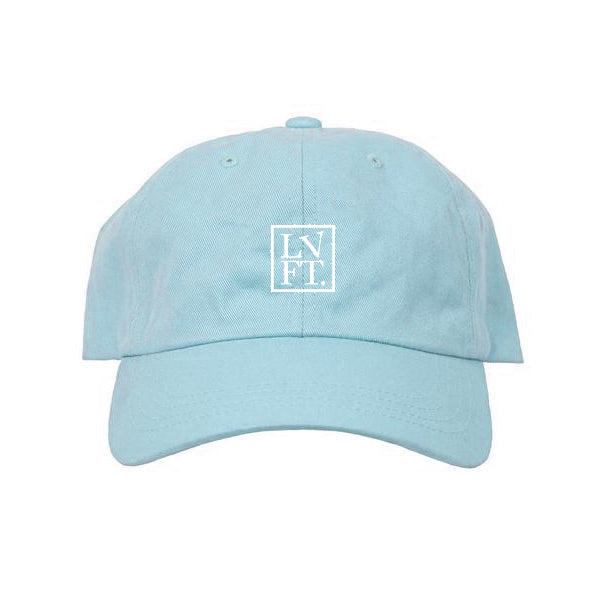 Sculpture Cap- Baby Blue
