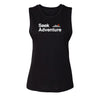 Seek Adventure Muscle Tank - Black