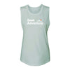 Seek Adventure Muscle Tank - Mint