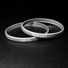 TEAM LVFT Slim Band-Silver