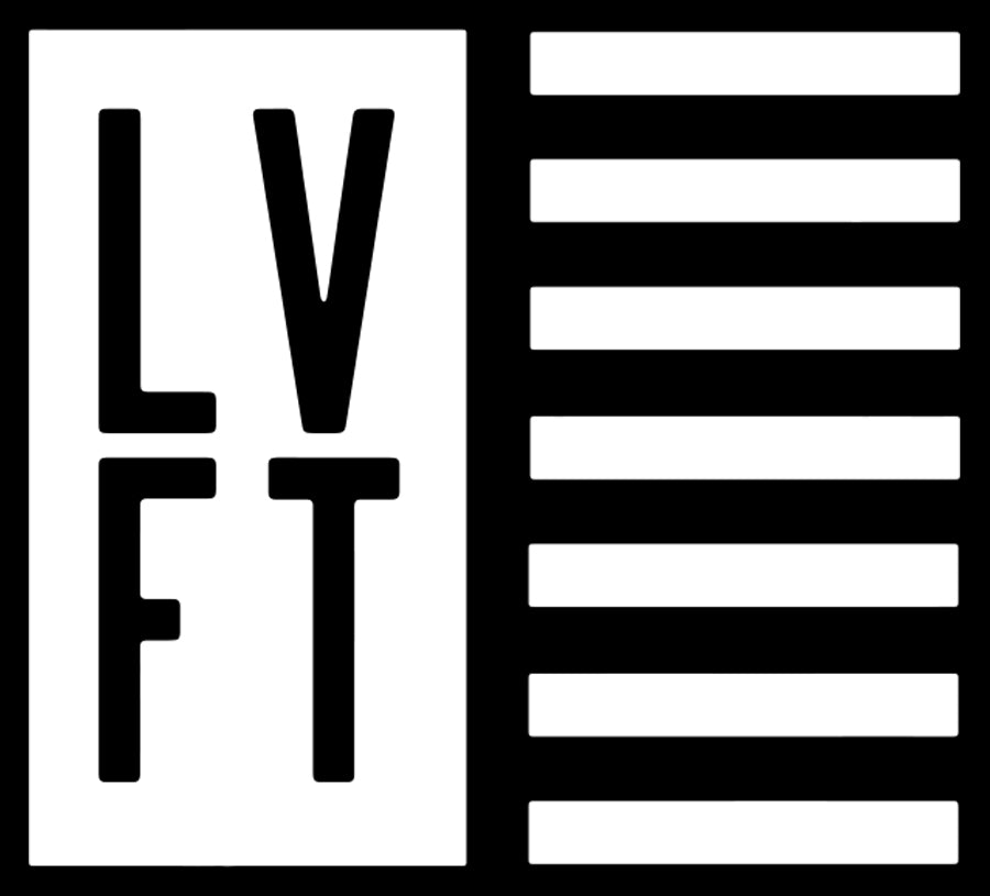 LVFT Flag Sticker - Black