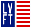 Live Fit Apparel LVFT Flag Sticker - Blue - LVFT