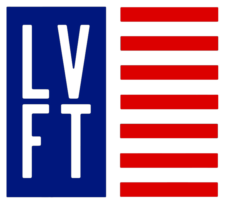LVFT Flag Sticker - Blue