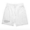 Stealth Shorts - White