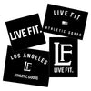 Live Fit Apparel LF Sticker Pack - LVFT