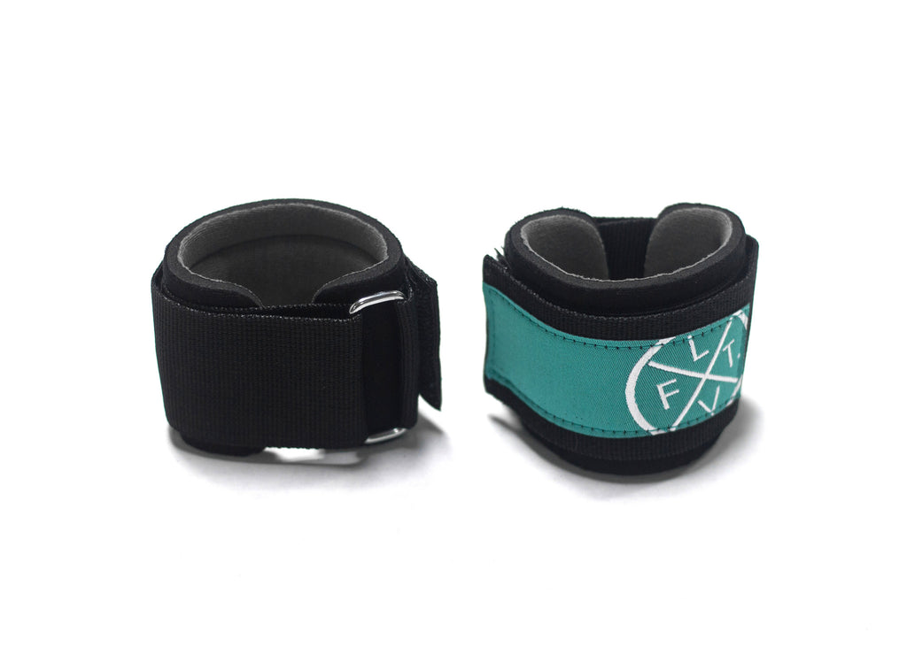 Prestige Worldwide Wrist Wraps- Black/Teal