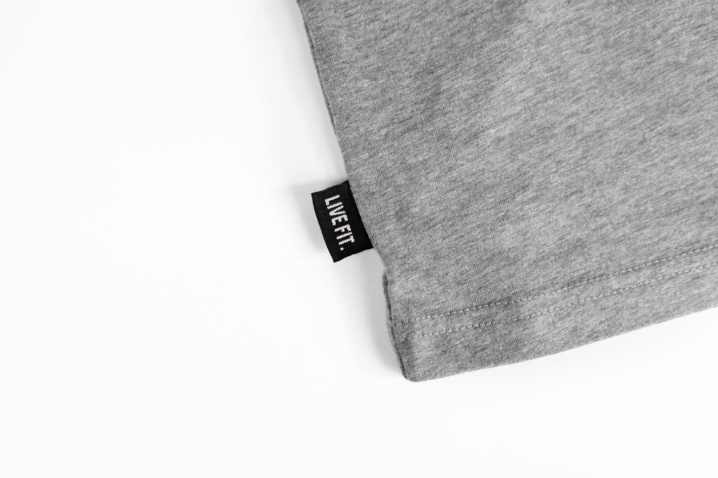 Team LVFT Tee - Heather Grey