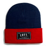 Trademark Beanie - Navy / Red