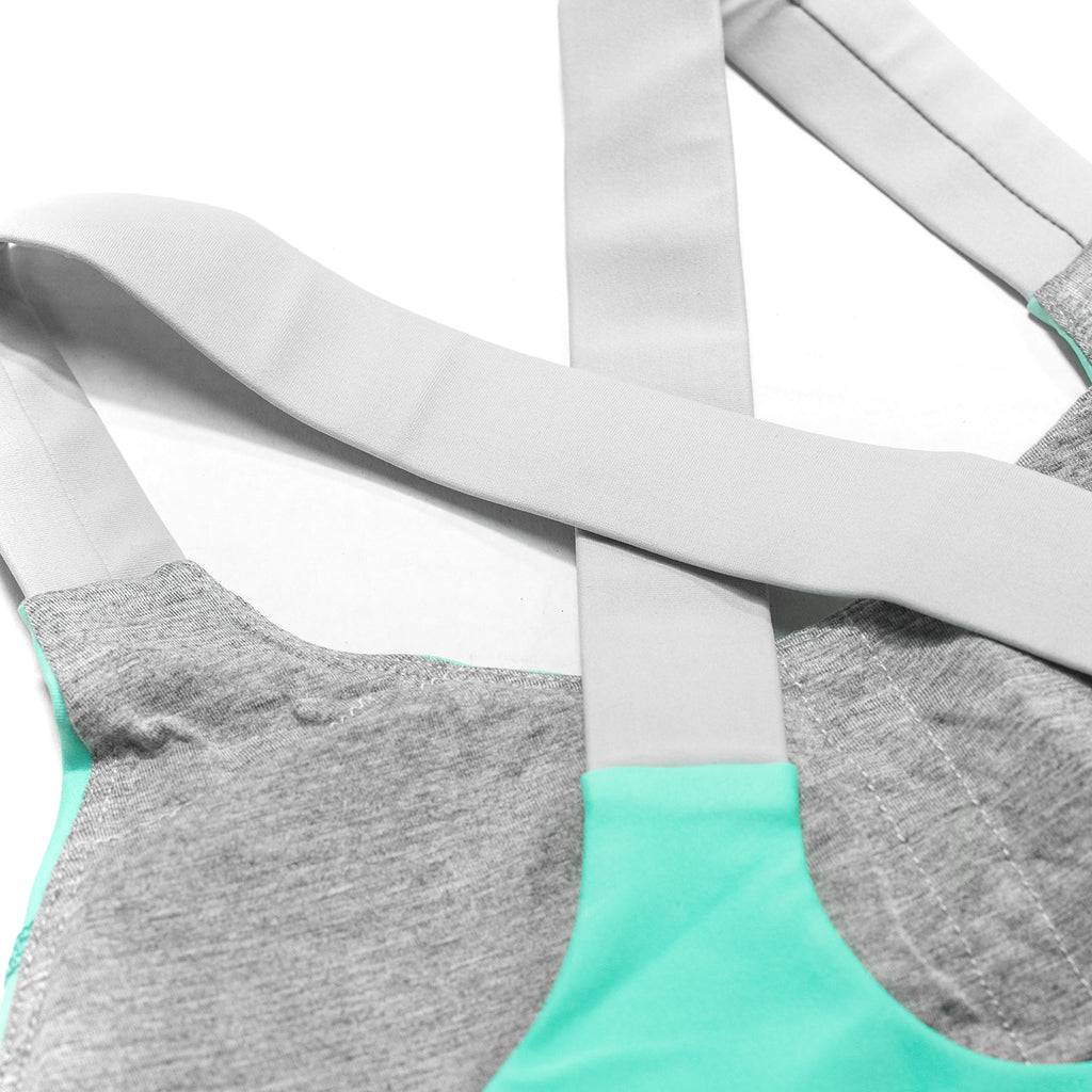 LVFT Performance Bra- Mint