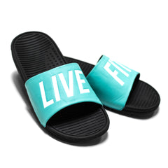 Live Fit. Slides- Teal