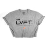 Team LVFT Crop Tee - Grey