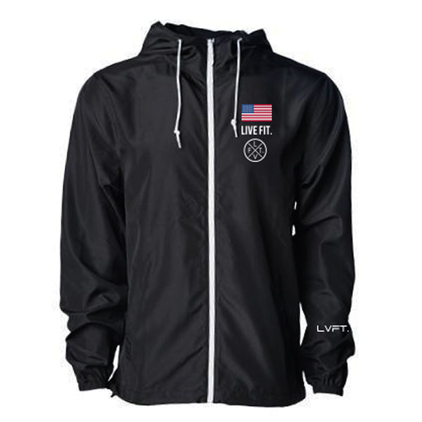 Newport Windbreaker- Black
