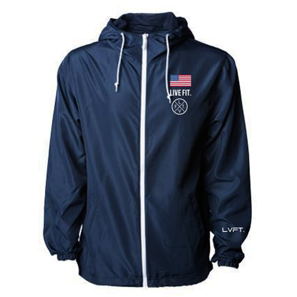 Newport Windbreaker-Navy