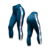 Vantage Leggings - Heather Teal