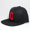 Live Fit Apparel C Snapback - Black/ Red - LVFT