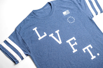 Victory Jersey Tee - Royal Heather