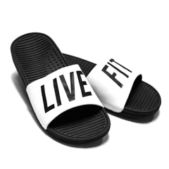 Live Fit. Slides- White