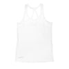 Ladies Tech Performance Tank- White