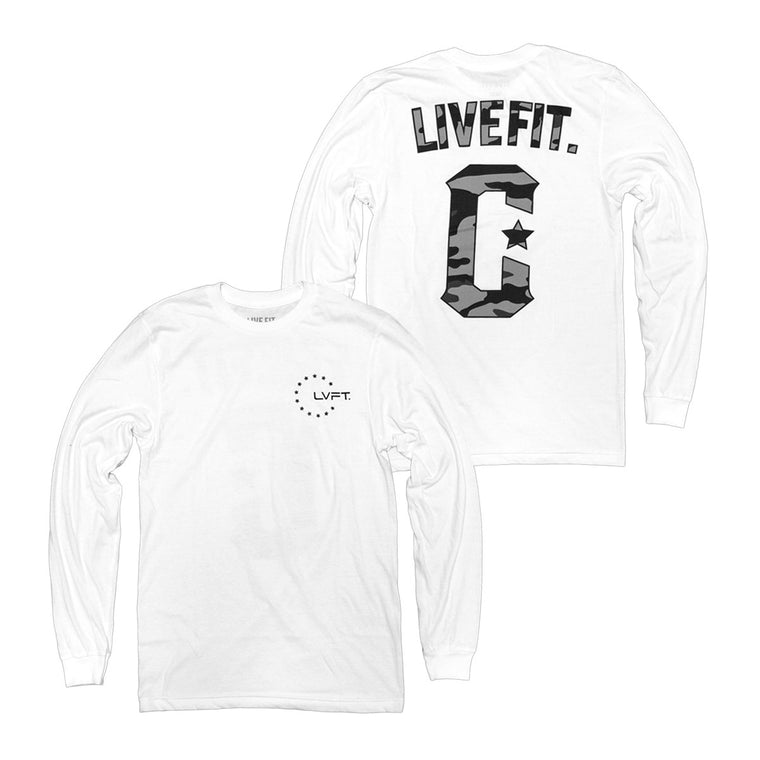 Militant Long Sleeve- White