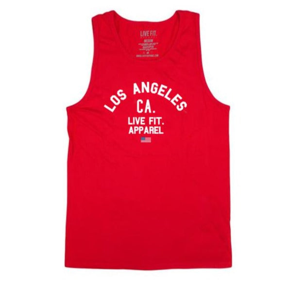 Warm Up Tank- Red