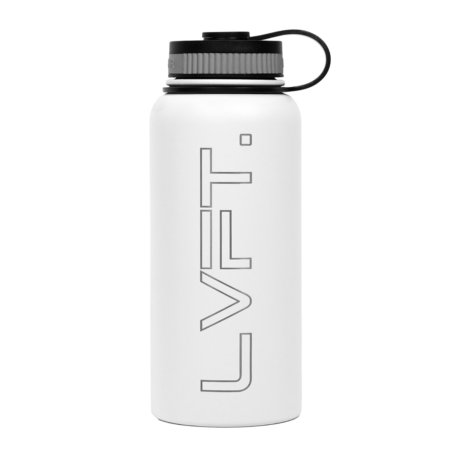 LVFT Stainless Steel Bottle - White