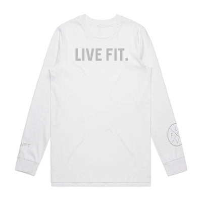 Everyday Long Sleeve  - White