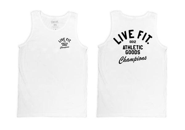 Athletic Goods Tank - White