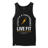 Register Trademark Tank - Black / Gold