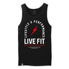 Register Trademark Tank - Black / Red