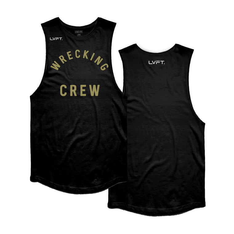 Wrecking Crew Tank - Black / Gold